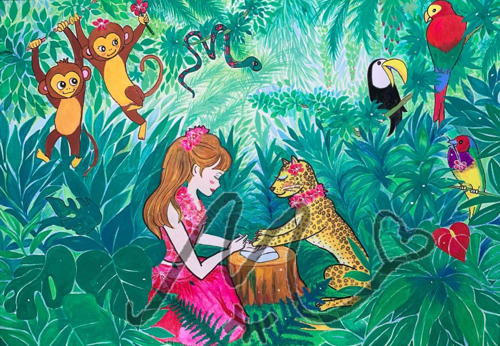 ジャングルのお洒落達