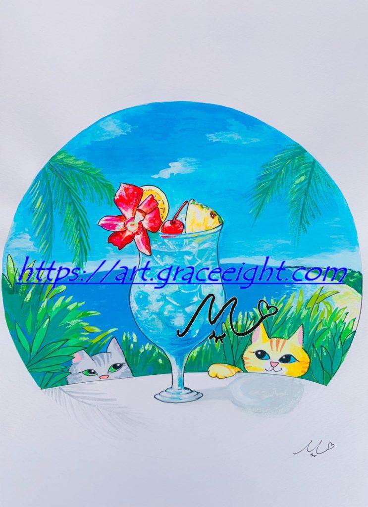 常夏の青Miジンコ