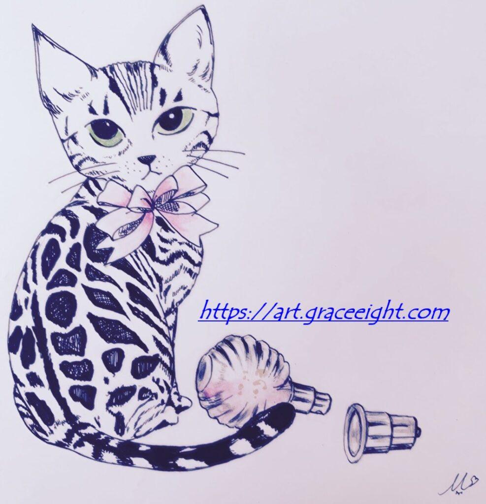 2いたずら猫と香水2(Miジンコ)
